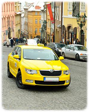Uærlige taxichauffører i Prag