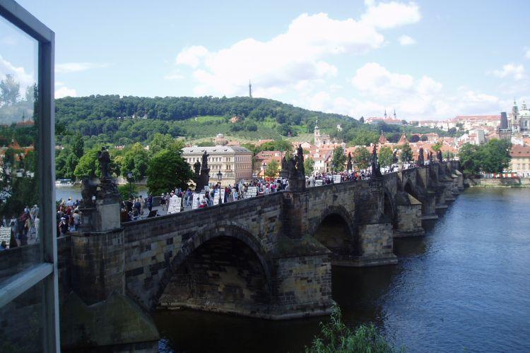 Transport mellem Prag og Mělník